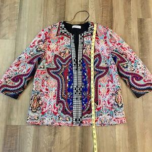 Zara Jackets & Coats - Zara embroidered and embellished jacket